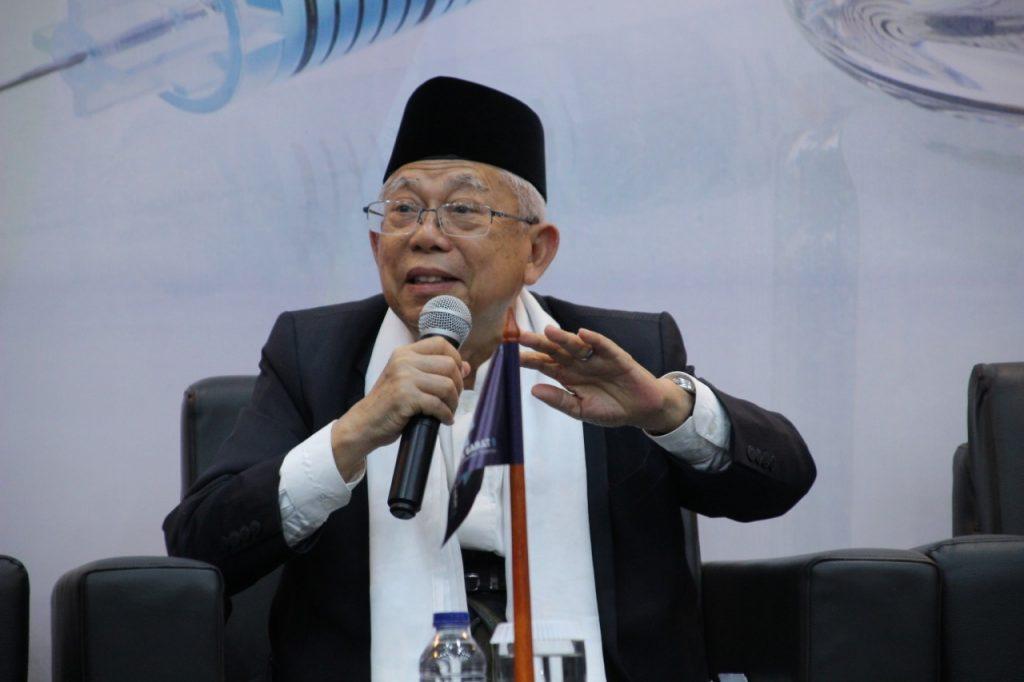 Ma'ruf Amin Minta MUI Tidak Terlibat Politik Praktis