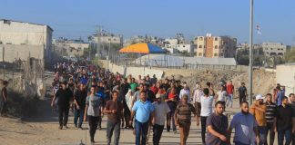 Aksi Stop Blokade Gaza Terus Memakan Korban