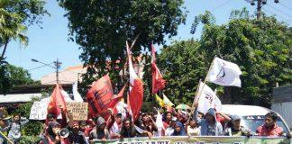 Datangi DPRD jatim, Ini Tuntutan Aliansi Tani Jawa Timur