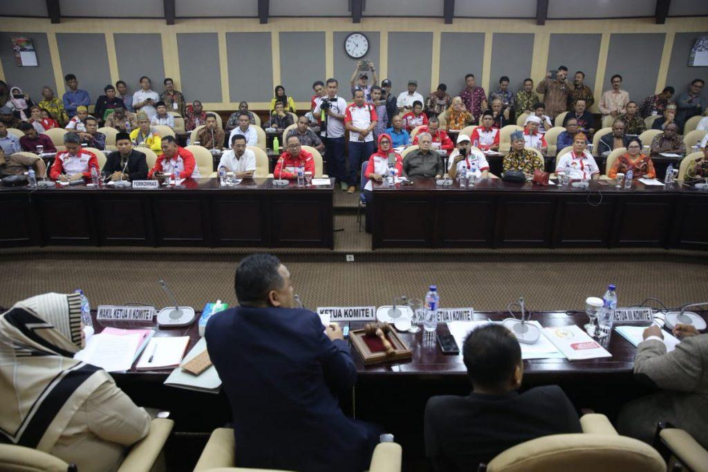 Terima Audiensi Masyarakat, DPD RI: Tuntutan Pemekaran Daerah Tidak bisa ditahan