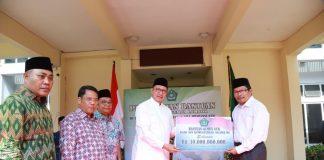 Kemenag Salurkan Bantuan 10 M Kepada Korban Gempa NTB