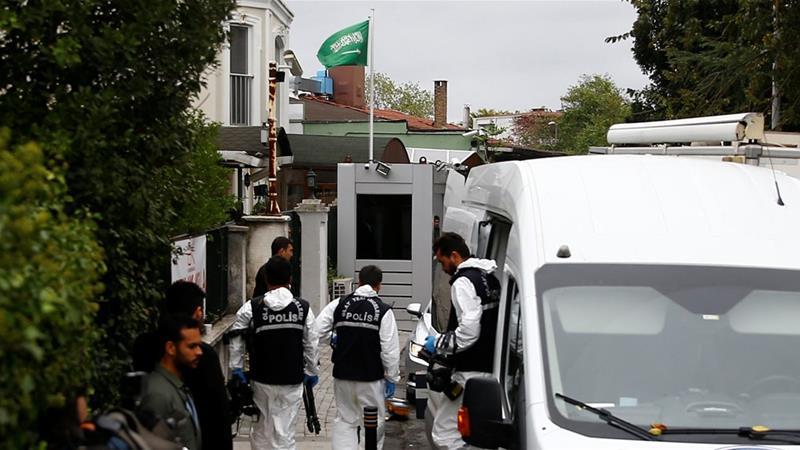 Kasus Khashoggi: Penyidik Turki Mulai Investigasi Gedung Konsulat Saudi di Istanbul