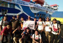 Sinergi BPBD, ASDP, dan ACT berangkatkan kapal kemanusiaan ke-2 dari Surabaya menuju Palu