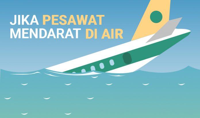 Pesawat Mendarat di Air - Feature Image