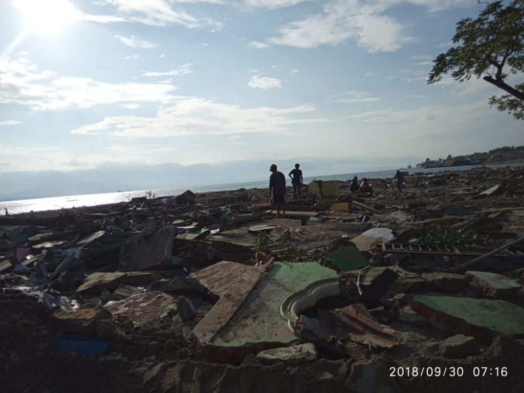 Warga Saksikan Tradisi Nomoni Sebelum Tsunami