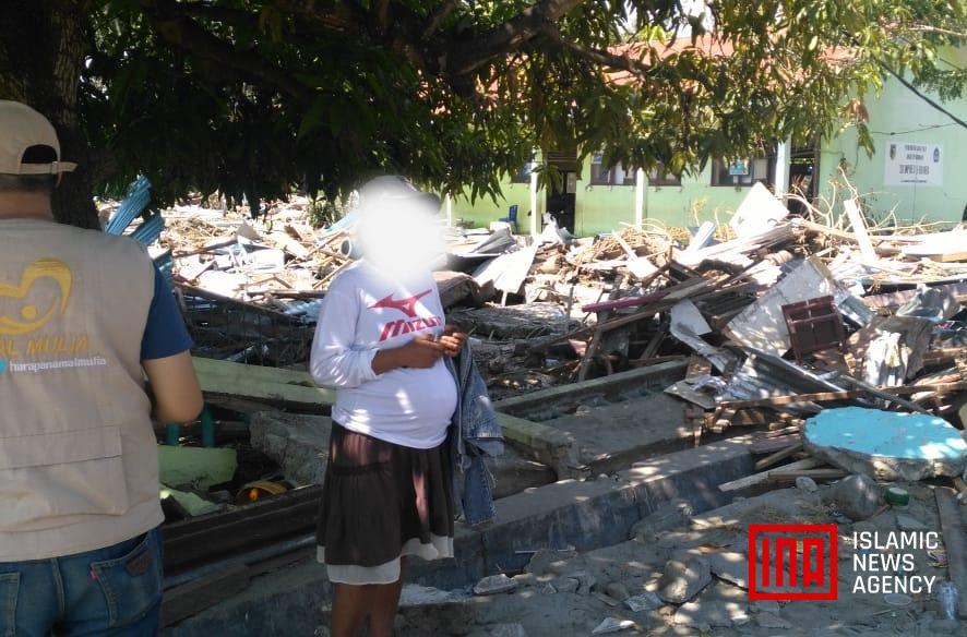 Perjuangan Surantina, Hamil Besar Melarikan Diri dari Gempa dan Tsunami Palu