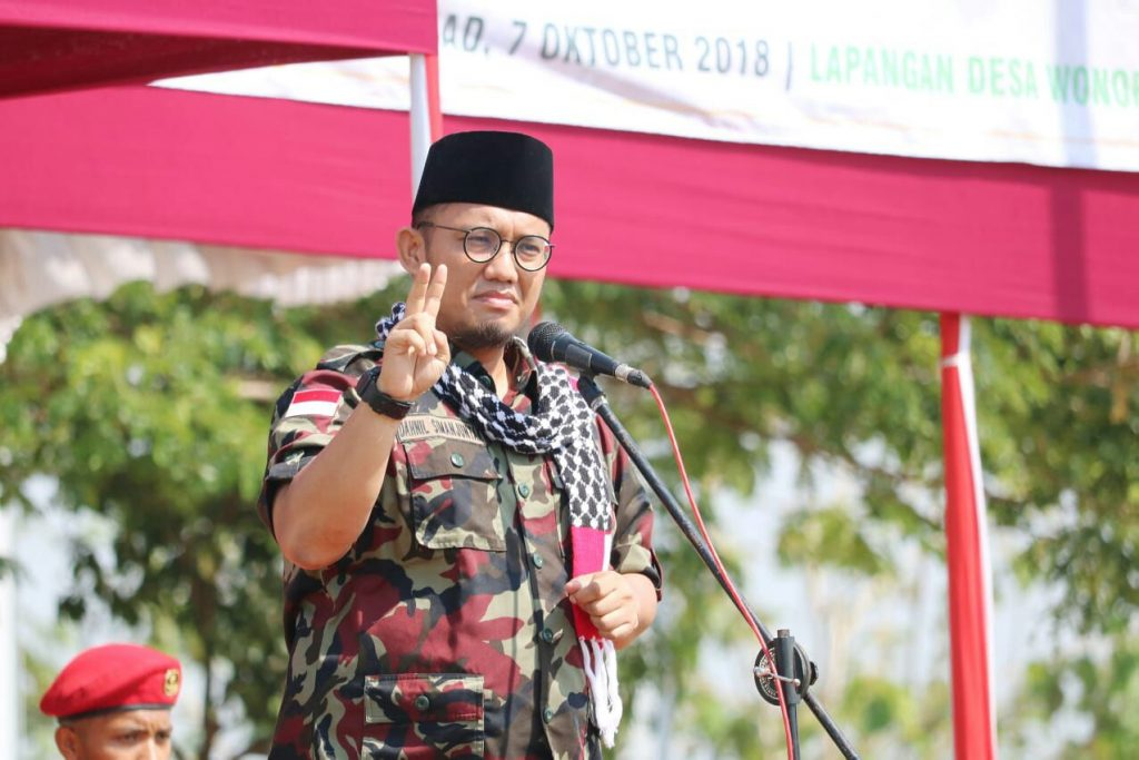 Satu Sandal Muhammadiyah Hilang