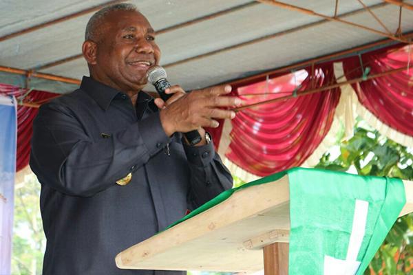 Gubernur Papua Barat Ceritakan Kerukunan Umat Beragama Di Rakernas IV MUI