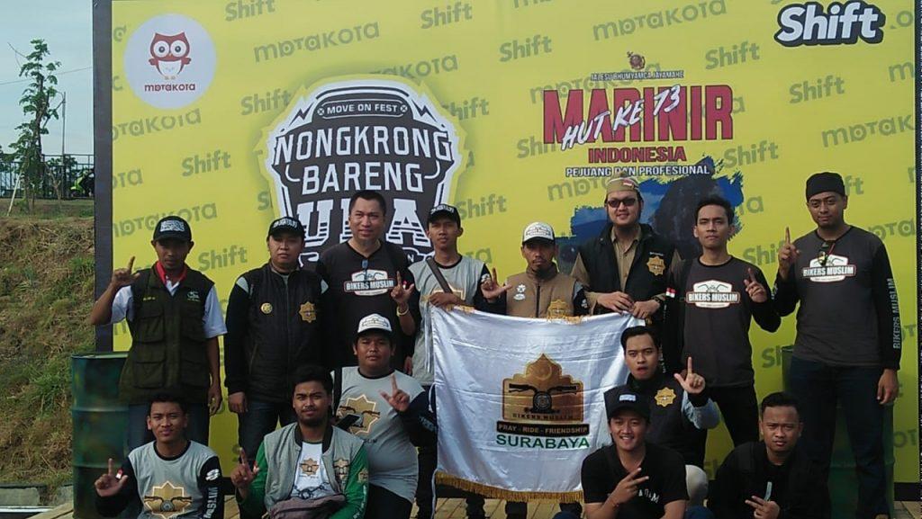 Bikers Muslim Surabaya: Touring Sambil Dakwah