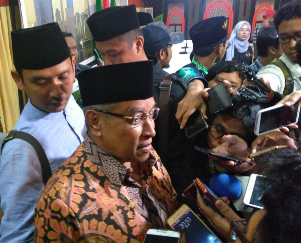 Ketum PBNU: Karakter Umat Islam Indonesia Ramah, Toleran dan Pemaaf