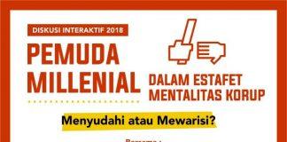 Gagas Milenial Anti Korup, Sejumlah Komunitas Pemuda Surabaya Adakan Diskusi Interaktif