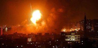 Gaza Bergejolak, Serangan Udara Zionis Israel Kembali Memakan Korban Warga Palestina