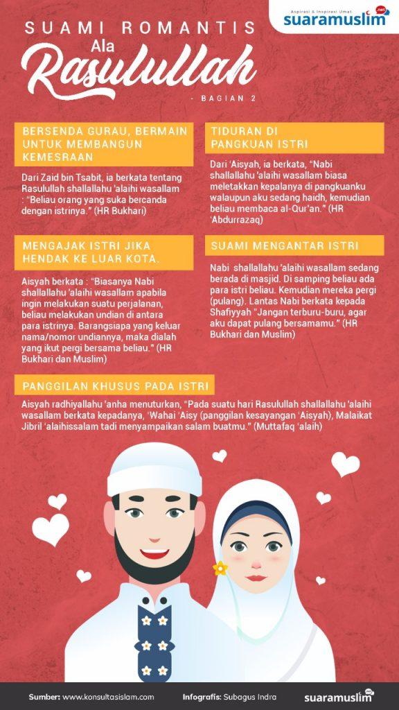 Suami Romantis Ala Rasulullah