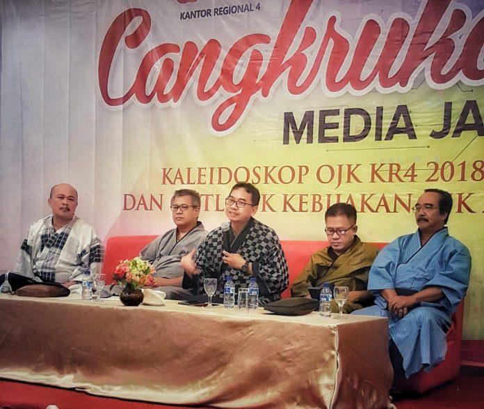 Cangkrukan Bareng Wartawan, OJK Jatim Paparkan Sejarah Awal Pembentukan