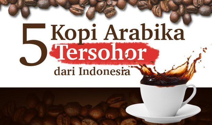 Lima Kopi Arabika Tersohor dari Indonesia