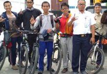 Hadiri Reuni 212, 10 Mahasiswa Asal Lampung Bersepeda Menuju Jakarta