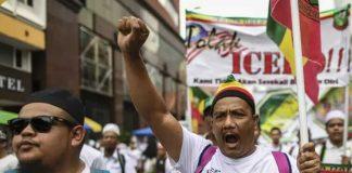 Ribuan Orang Di Malaysia Unjuk Rasa, Tolak Ratifikasi Konvensi PBB