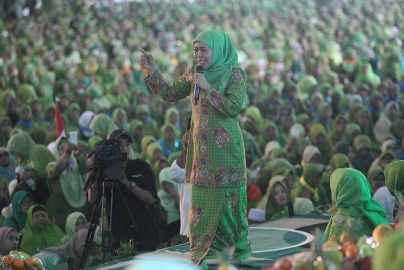 Muslimat NU Jatim Gelar Doa Bersama Untuk Keselamatan Bangsa