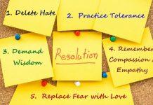 Tips Membuat Resolusi Pergantian Tahun