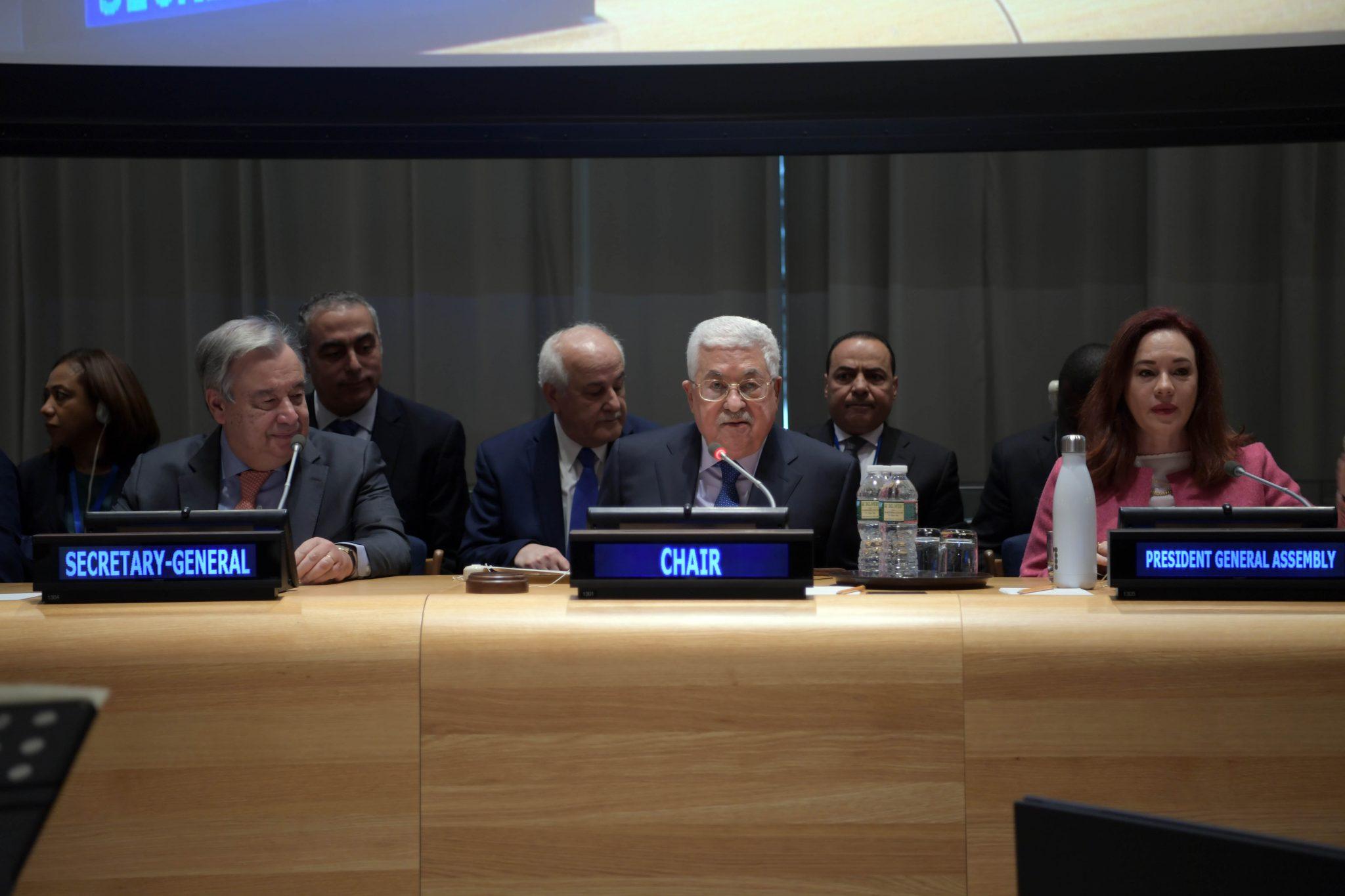 Presiden Palestina Menyerukan Dimulainya Kembali Pembicaraan Pemilihan