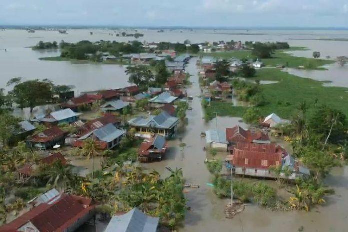 BPBD Banjir Kepung Sulawesi Selatan, 6 Orang Meninggal