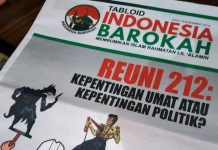 BPN Tabloid Indonesia Barokah Sudutkan Prabowo-Sandiaga