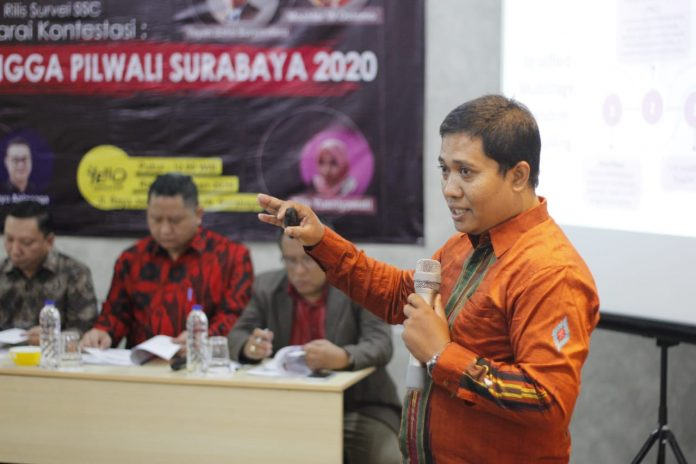Surabaya Survey Center: Sandiaga Uno Kalahkan Akseptabilitas Ma'ruf Amin di Jatim
