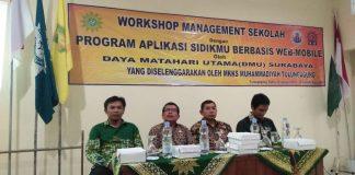 Workshop Manajemen Sekolah oleh PT DMU Surabaya
