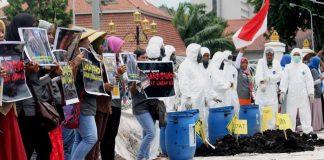 Aliansi Solidaritas Desak Gubernur Jatim Segera Melakukan Pemulihan Lingkungan di Desa Lakardowo
