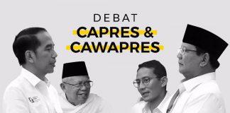 Catatan Debat Pilpres 2019 Putaran Pertama