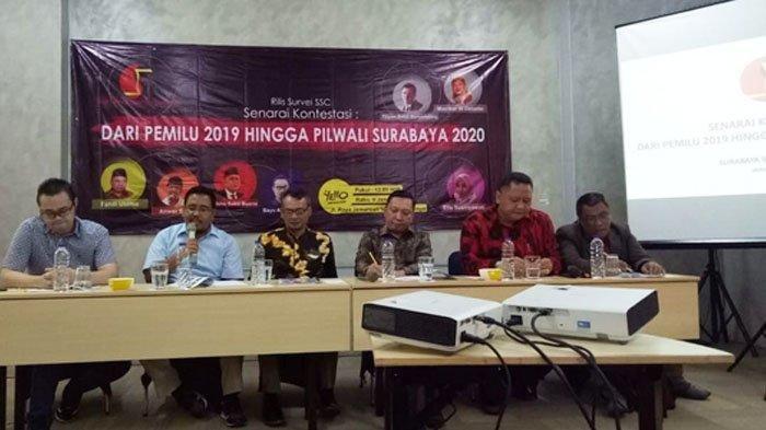 Surabaya Survey Center: Cawali Surabaya 2020 Harus Lebih Baik dari Risma