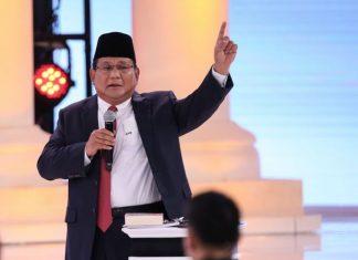 Akhiri Debat, Prabowo: Kami Punya Strategi Lain Dalam Mengelola Negara