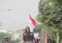 Gowes Surabaya-Banten, Pria Ini Ajak Masyarakat Peduli Korban Terdampak Tsunami