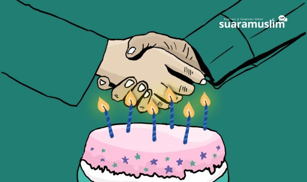 Hukum Mengucapkan Selamat Ulang Tahun