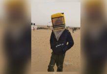 Tahan Gas Air Mata Israel, Warga Gaza Olah Jerigen Jadi Masker