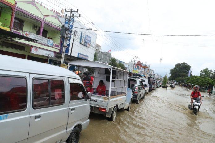 Kemenag Salurkan Bantuan 1,6 M Untuk Korban Banjir Sentani