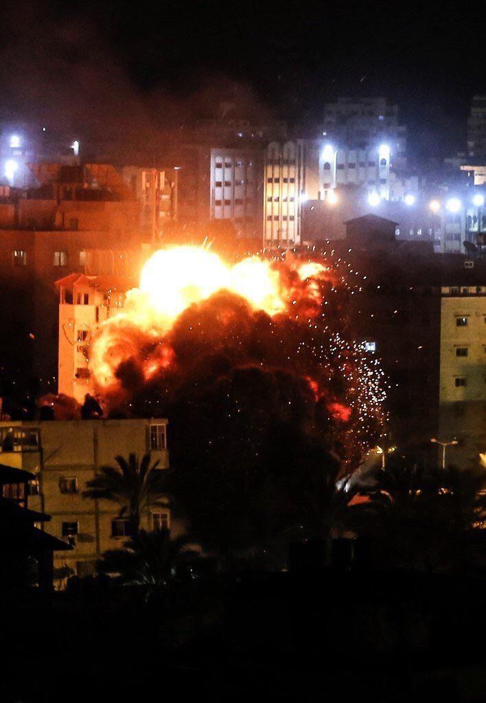 Israel Bombardir Gaza Palestina