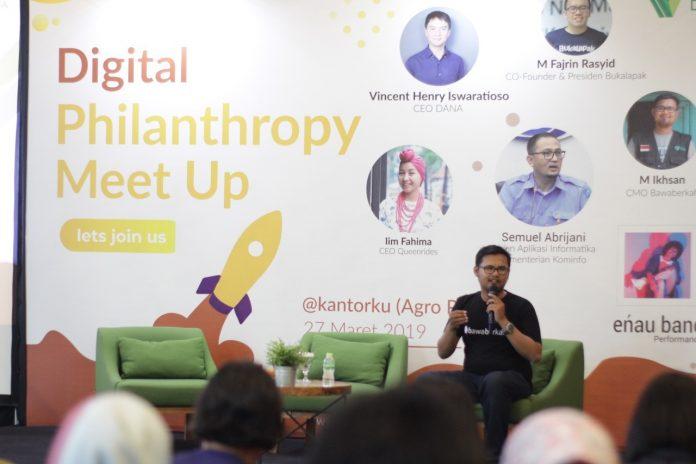 Digital Philantrophy Buka Kepedulian Millenials Untuk Berdonasi