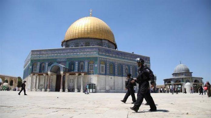 Ribuan Warga Yahudi Memaksa Masuk Ke Masjid Al-Aqsa