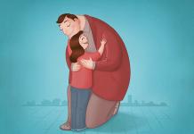 Dashyatnya Efek Pelukan Hangat Orang Tua kepada Anak