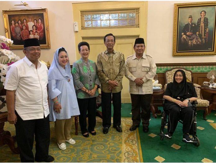 Dikunjungi Prabowo, Ini Pesan Sri Sultan HB X