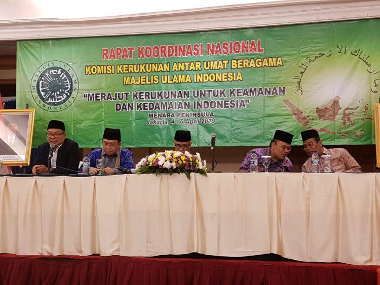 MUI Terus Bahas Masalah Kerukunan Beragama di Indonesia