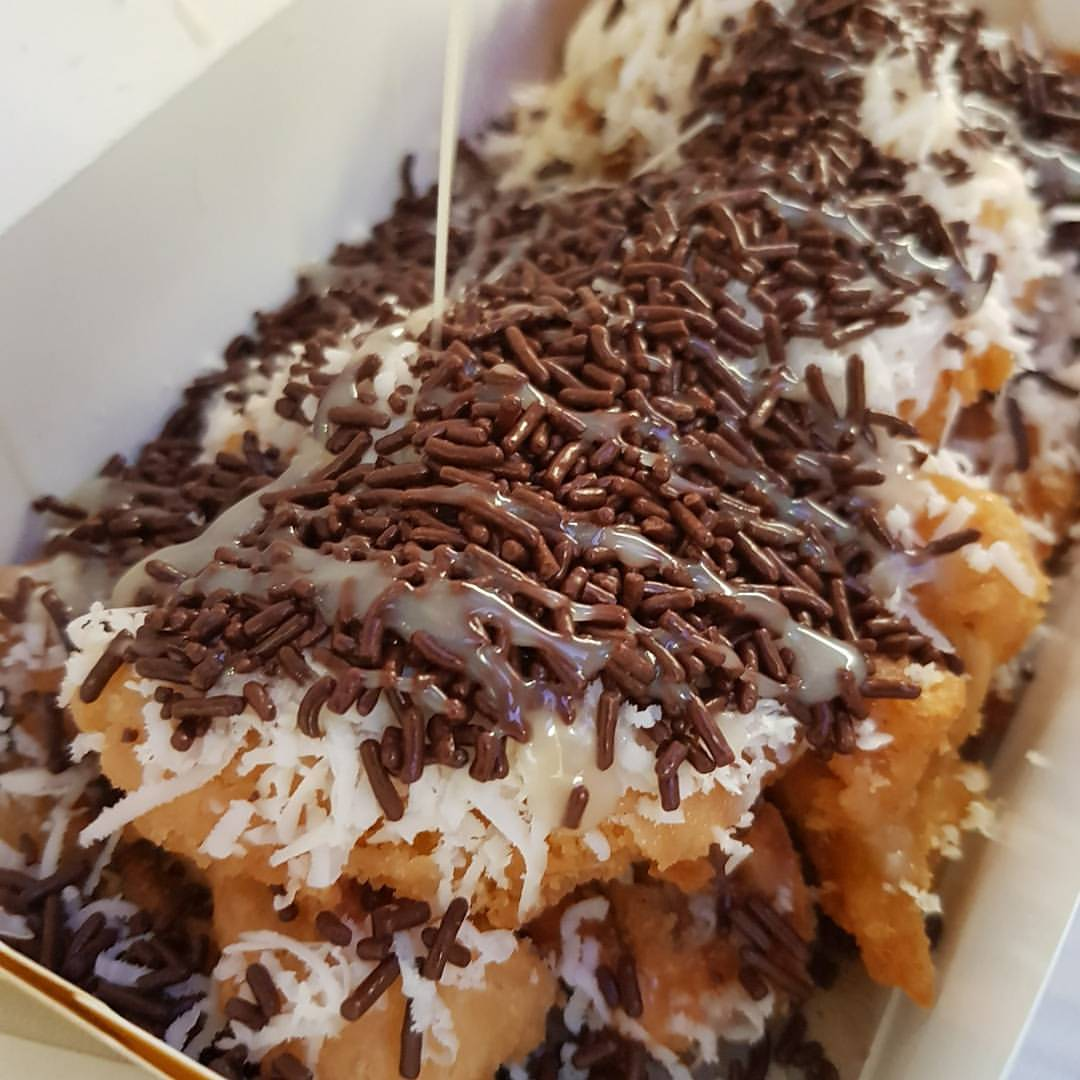 Pisang Goreng Coklat Keju Camilan Nikmat Dan Mengenyangkan