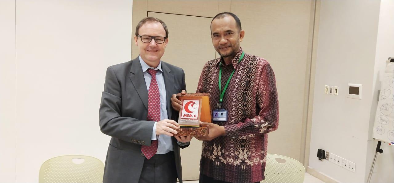 Sambangi Kedubes Ingris, MER-C Sampaikan Pembangunan Rumah Sakit Indonesia