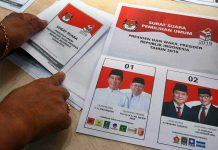 Surat Suara Di Selangor Malaysia Mayoritas Tercoblos 01