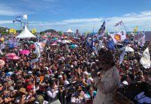 Kampanye di Padang, Prabowo: Maaf Saya Tidak Beri Amplop dan Sembako