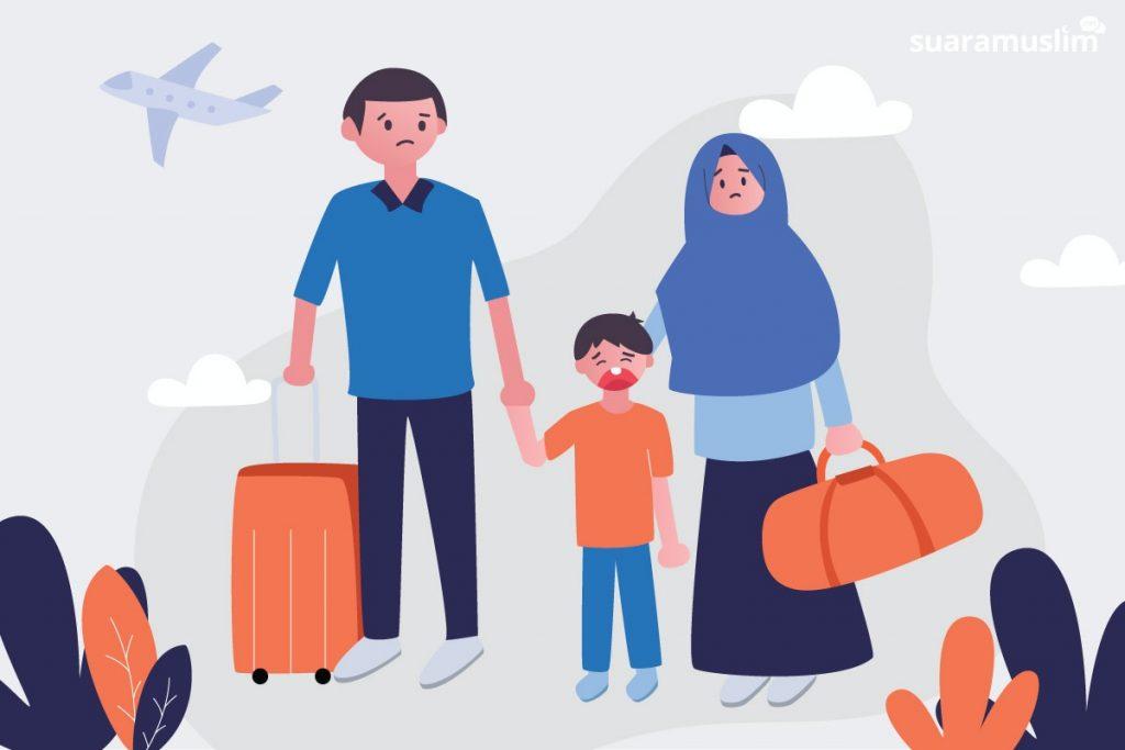 Agar Anak Tak Rewel Saat Perjalanan Mudik