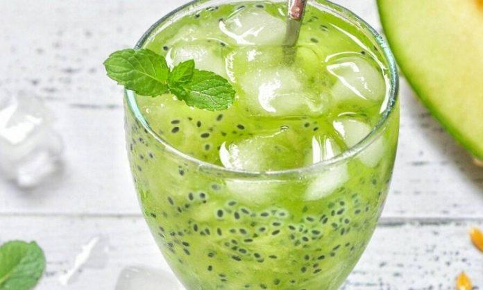 Es Timun Melon Minuman Segar untuk Buka Puasa