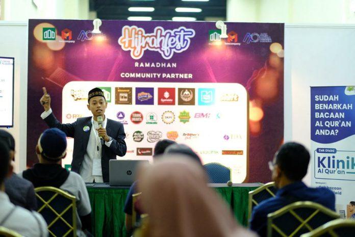 Griya Al Qur'an Ajarkan Mudah Mengaji Dengan Metode Sandi di Hijrah Fest 2019
