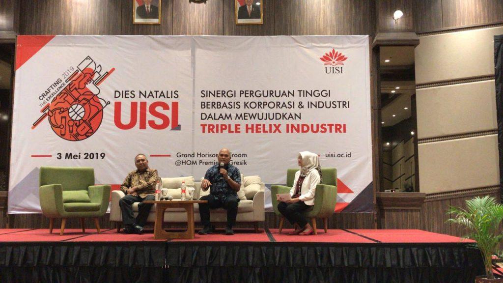 Dies Natalis Universitas Internasional Semen Indonesia Ke-6: Wujudkan Triple Helix Industri